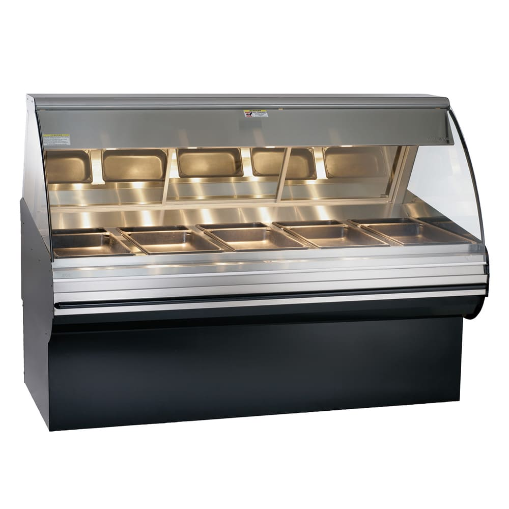 """Alto Shaam HN2SYS-72/PL-SS Self Serve Deli Display Case w/ Base, Left Side, 72"""", Stainless"""