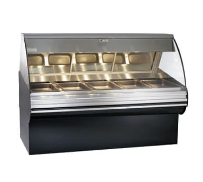 "Alto Shaam HN2SYS-72-SS Full Service Deli Display Case w/ Base, Heated, 72"", Stainless"