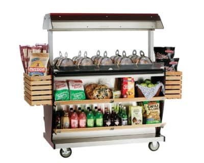 "Alto Shaam ITM2-48/DLX 2301 Deluxe Island Hot Food Takeout Merchandiser, 67"" W, Export"