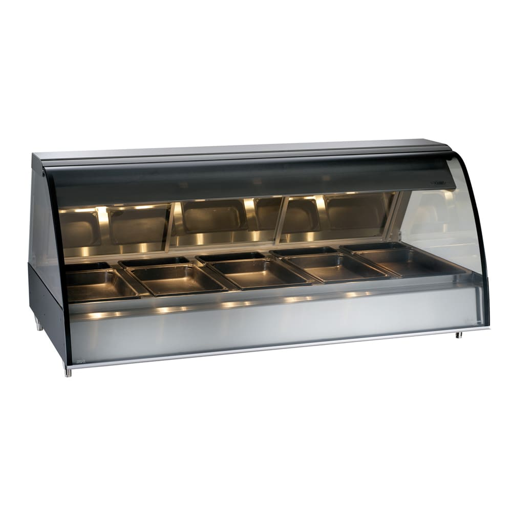 "Alto Shaam TY2-72/PR-SS 72"" Self-Service Countertop Heated Display Case - (5) Pan Capacity, 120v/208 240v/1ph"