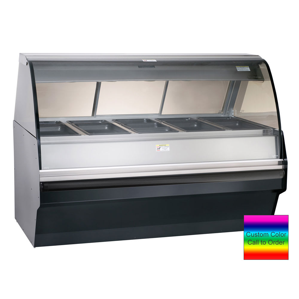 Alto Shaam TY2SYS-72/PL-C Self Serve Hot Deli Display w/ TY2 72/PL Case, Custom Color