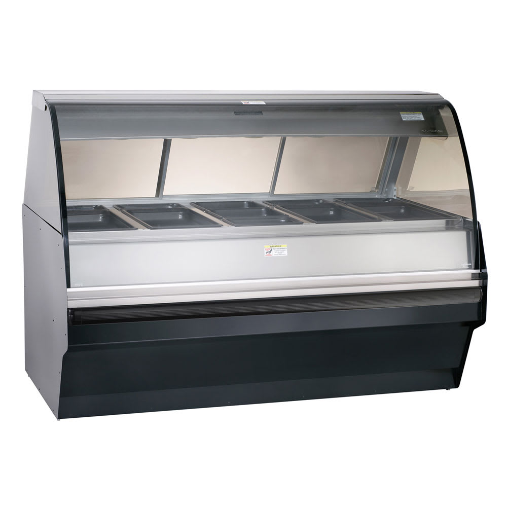 Alto Shaam TY2SYS-72/PR-BLK Self Serve Deli Display w/ TY2-72/PR Display Case, Black