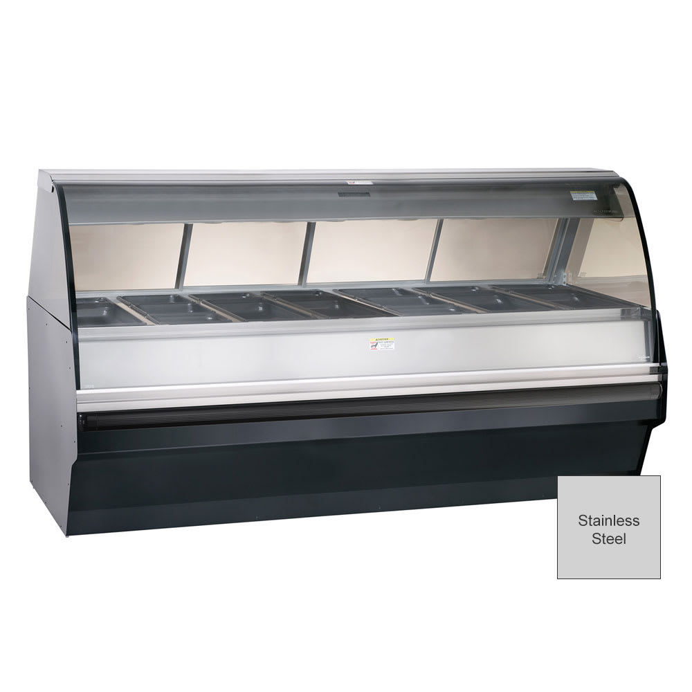 Alto Shaam TY2SYS-96/PR-SS Self Serve Hot Deli Display w/ TY2 96/PR Case, Stainless