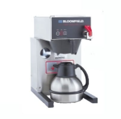 Bloomfield 1082AFL Extra Low Auto Thermal Brewer w/ Faucet & Pourover Option, 120V