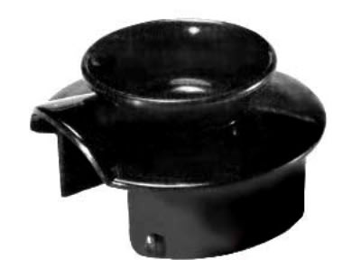 Bloomfield 8916-LIDBLK Regular Brew-Thru Decanter Lid, Black