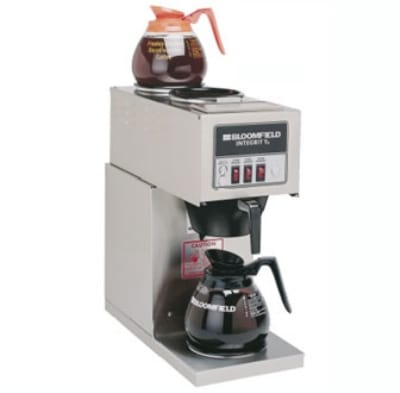Bloomfield 9003-D3 Integrity Pourover Coffee Brewer, 1 Lower/2 Upper Warmers, 120V