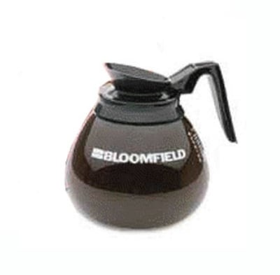 Bloomfield REG10112BLK Coffee Decanter w/ Black Handle, Glass