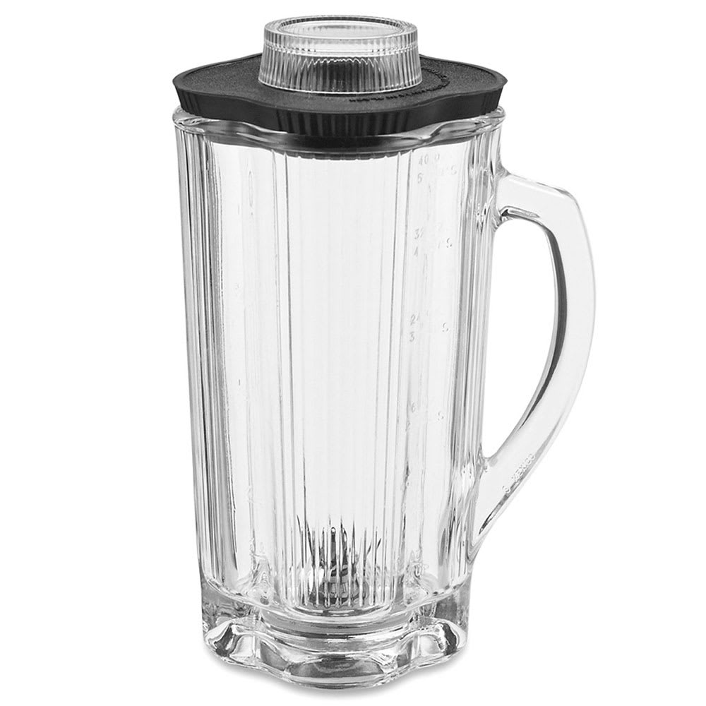 Waring CAC32 32 oz Glass Blender Container for 700, 7011, 7012 and More w/ Lid