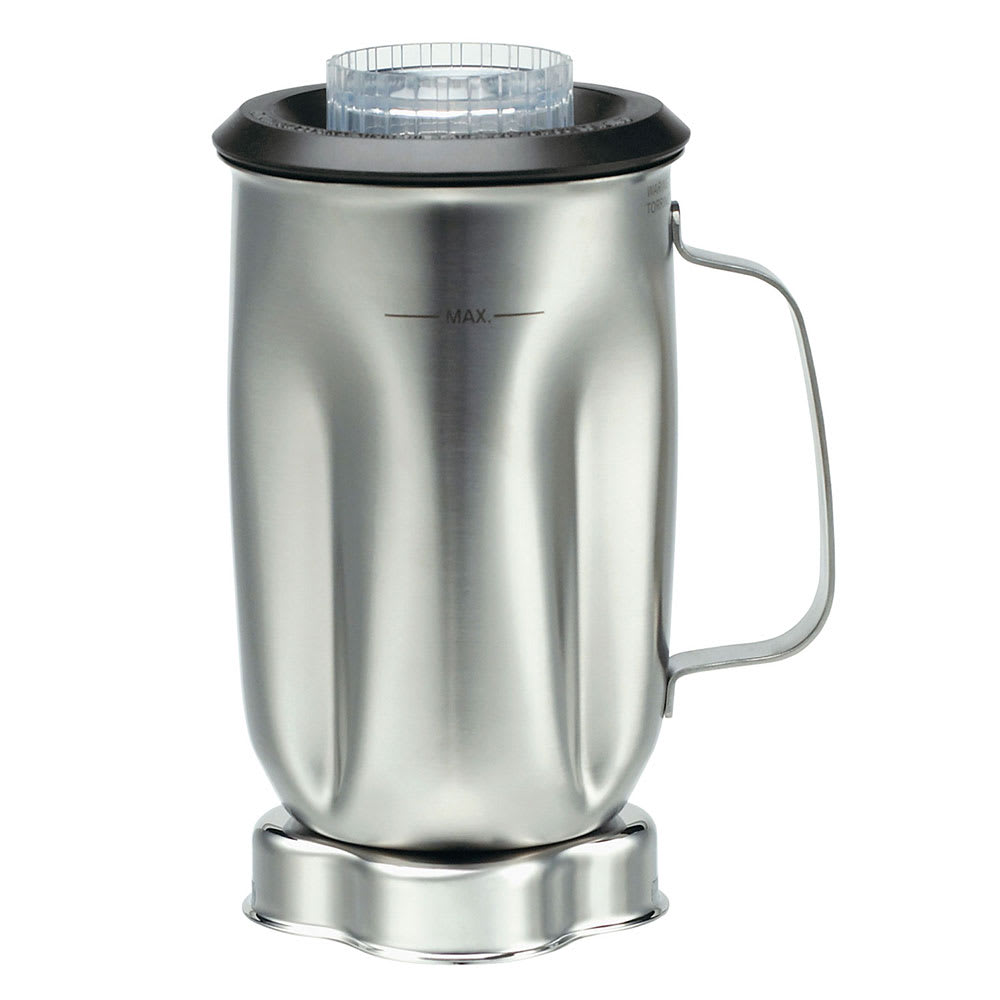 Waring CAC35 32-oz Stainless Blender Container for BB900S, BB900P & BB900G w/ Lid