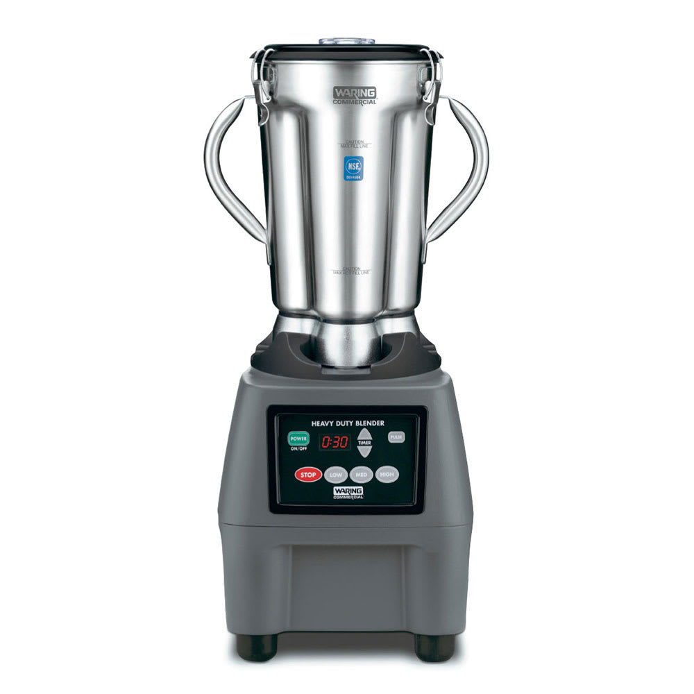 Waring CB15T 1 gal. Countertop Food Blender w/ Stainless Container