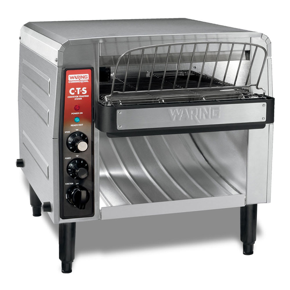 "Waring CTS1000B Conveyor Toaster - 1000 Slices/hr w/ 2"" Product Opening, 208v/1ph"