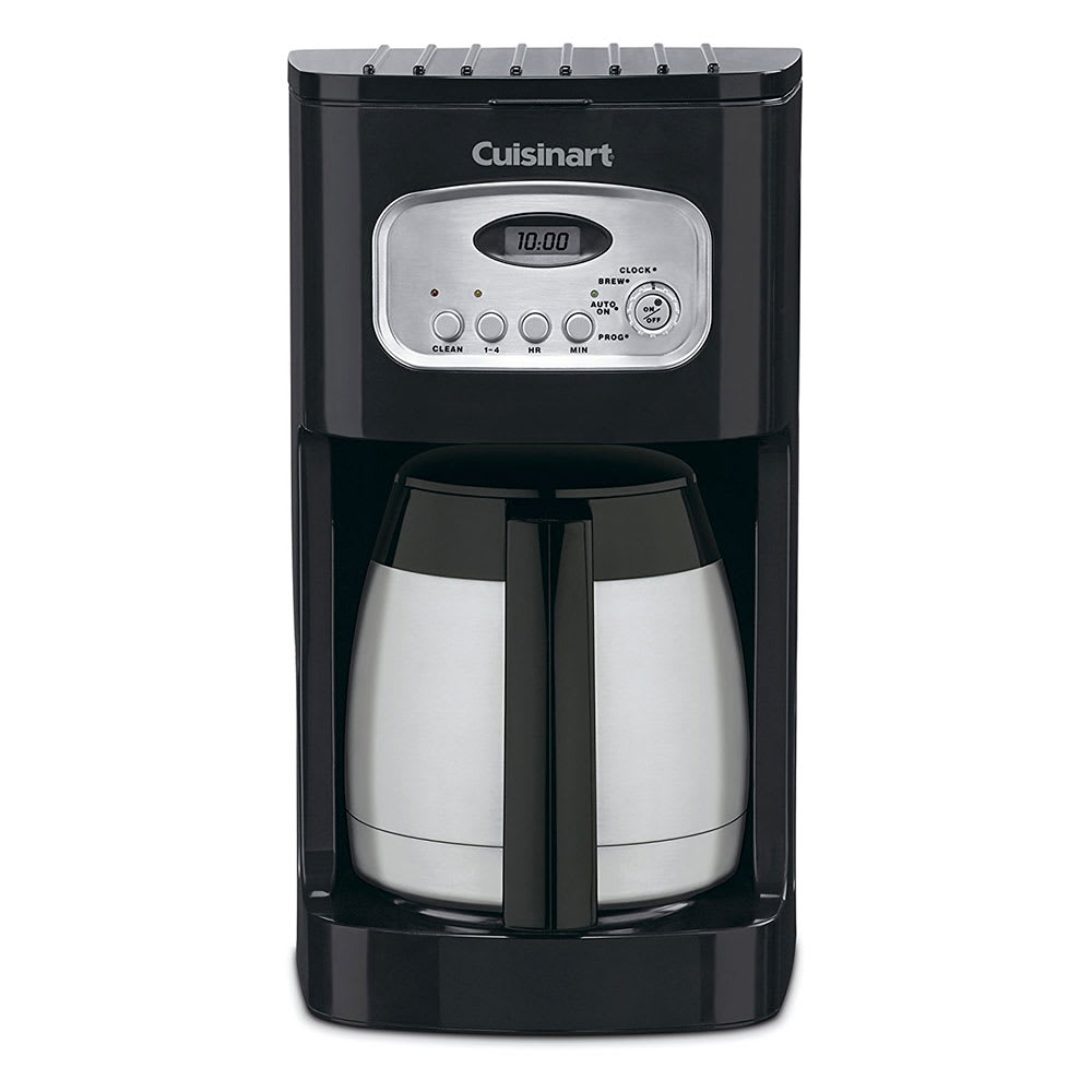 Waring DCC-1150BKW 10 Cup Cuisinart® Coffee Maker w/ Glass Carafe - Black/Stainless