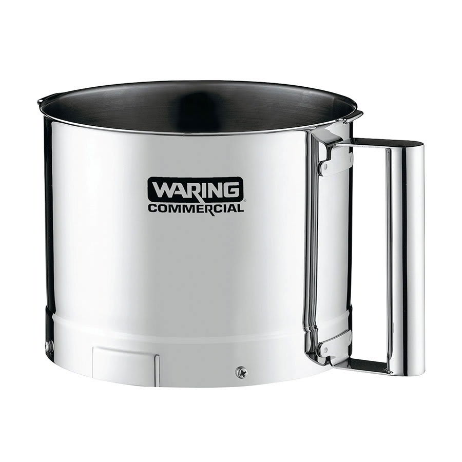Waring DFP10 Batch Bowl, 2.5 qt for FP1000, Stainless Steel
