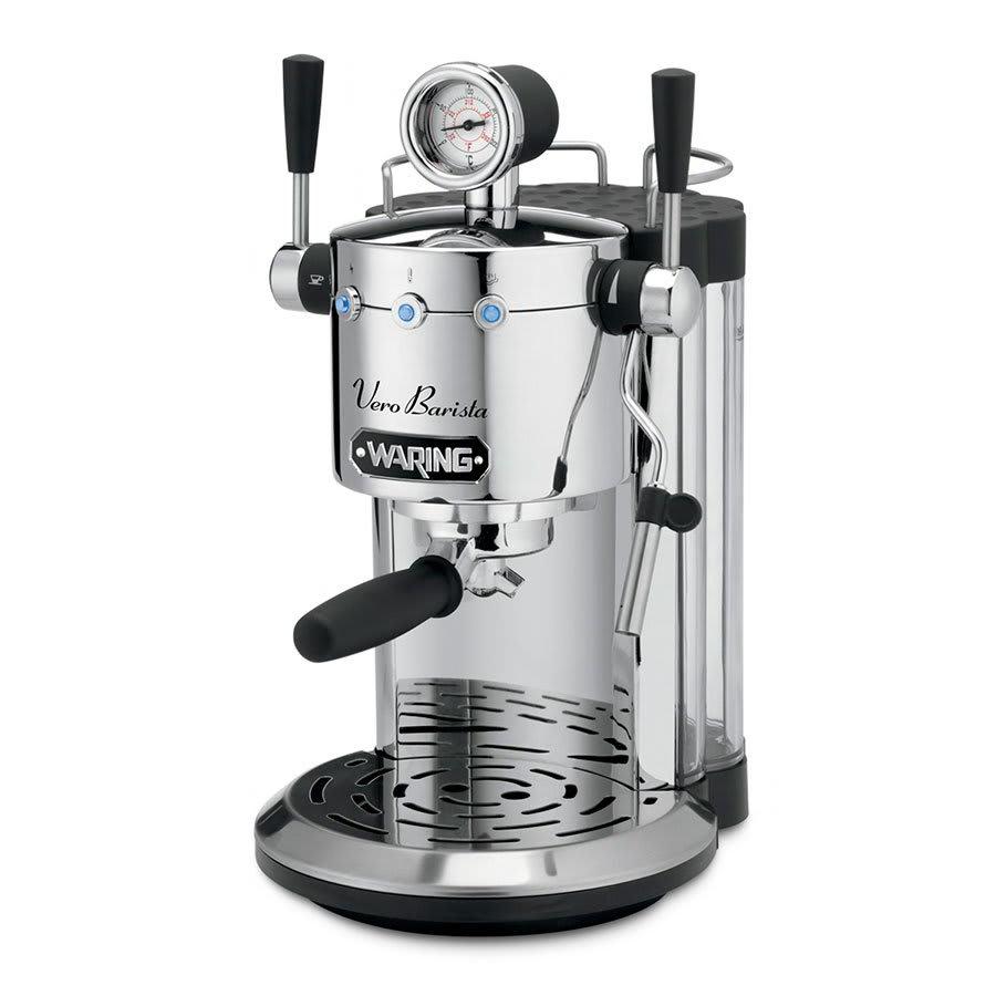 Waring ES1500 Espresso Maker w/ Steam Wand Dispenser & 42-oz Removable Water Tank