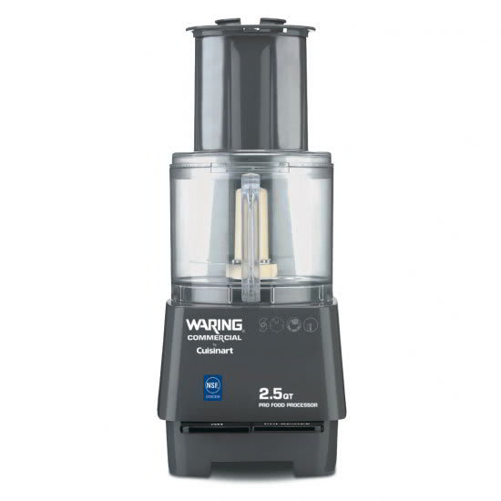 Waring FP25 2.5-qt Commercial Food Processor - Vertical Chute Feed, Polycarbonate Bowl 120v
