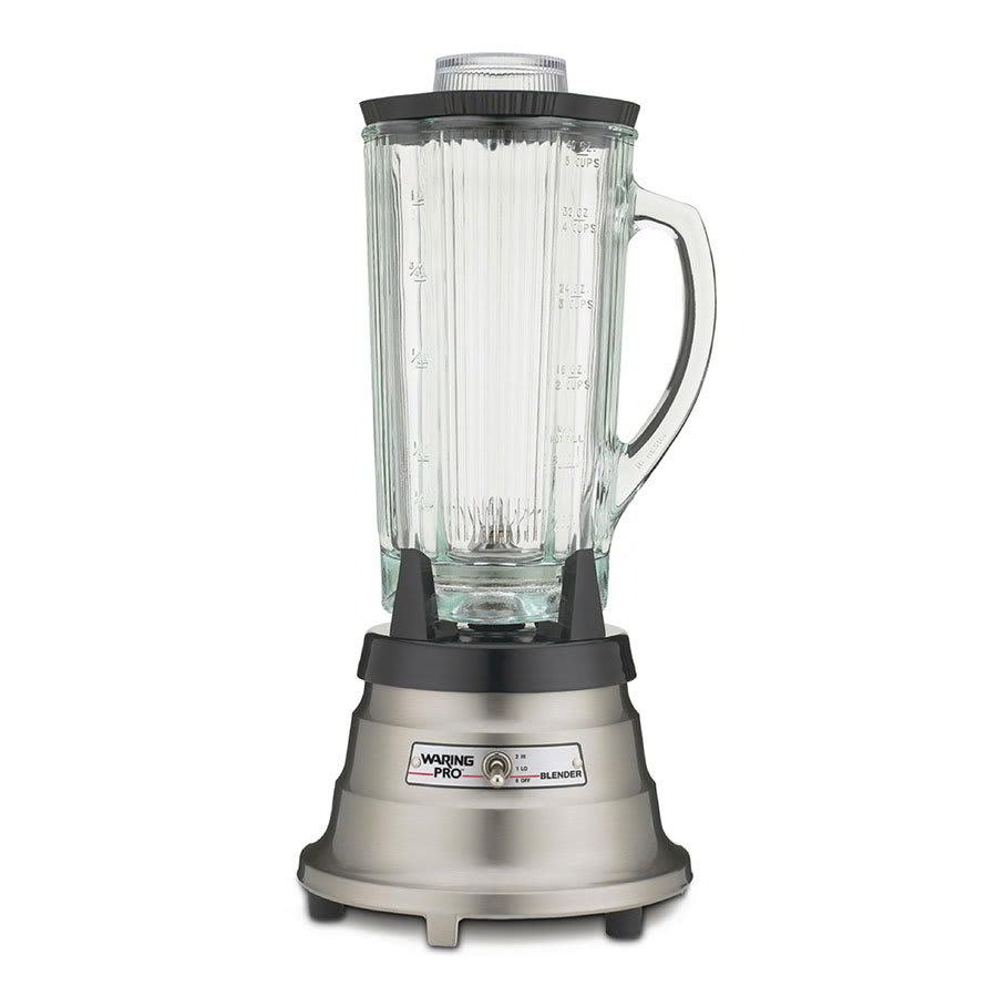 Waring MBB518 2-Speed Food/Beverage Blender w/ 40-oz Glass Carafe, Stainless