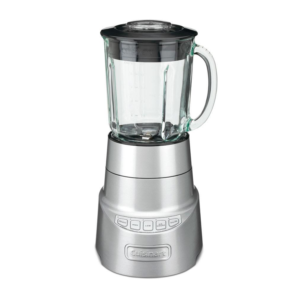 Waring SPB-600WH Cuisinart® 48 oz Countertop Blender w/ Glass Jar - (4) Speeds, Stainless
