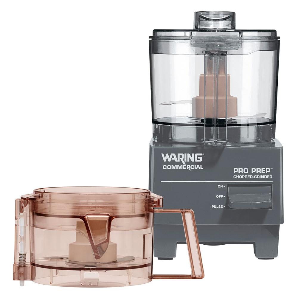 Waring WCG75 1-Speed Cutter Mixer Food Processor w/ .75-qt Bowl, 120v