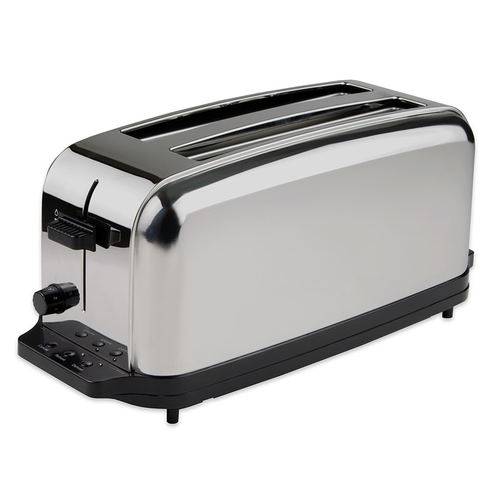 steel wid auto toaster qlt prod elite lift spin hei long slice stainless slot kenmore p