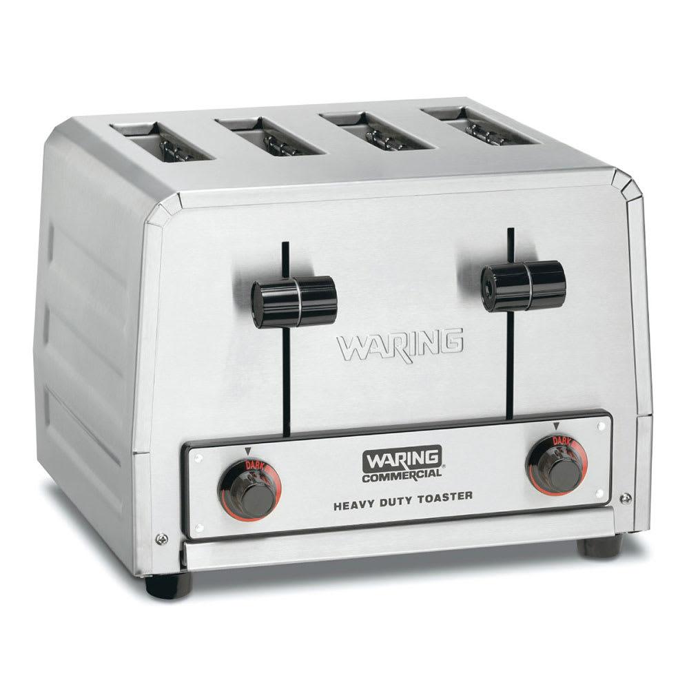 """Waring WCT805B Slot Toaster w/ 4 Slice Capacity & 1.125""""W Product Opening, 208v/1ph"""