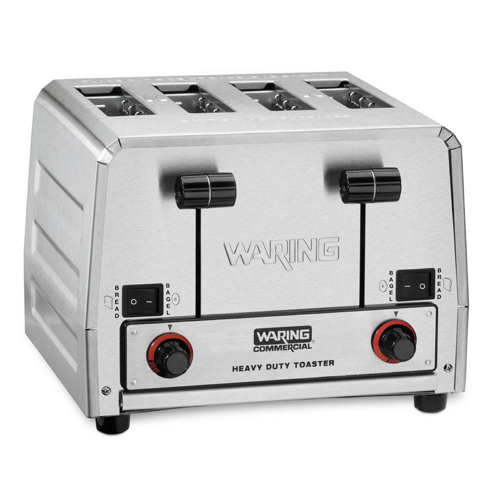 """Waring WCT855 Slot Toaster w/ 4 Slice Capacity & 1.5""""W Product Opening, 240v"""