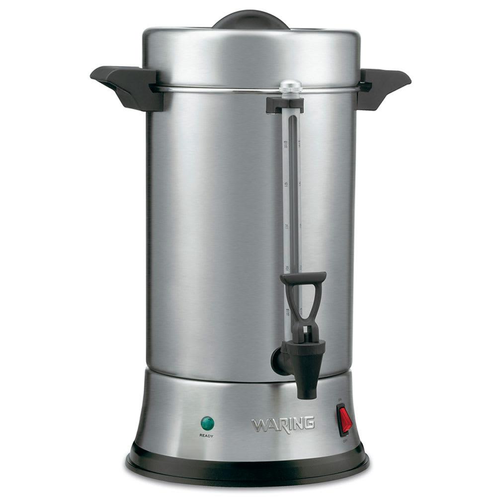Waring Wcu550 55 Cup Coffee Urn W Dual Heater System