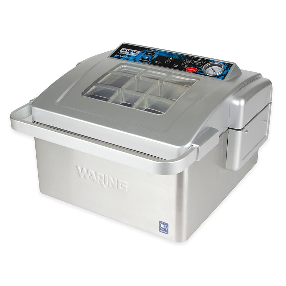 "Waring WCV300 Countertop Vacuum Packaging Machine w/ 11"" Seal Bar, 120v"