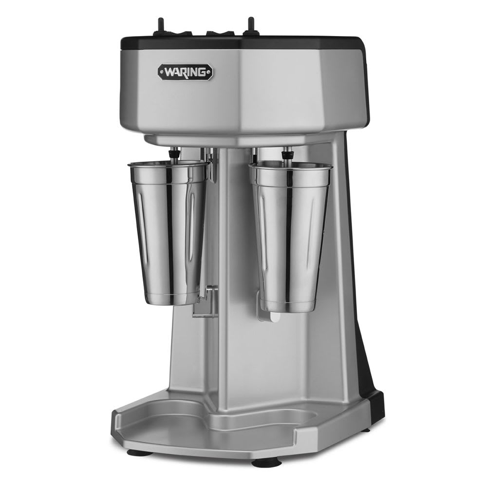 Waring WDM240T Double Spindle Drink Mixer w/ 3-Speeds, Countertop, 120v
