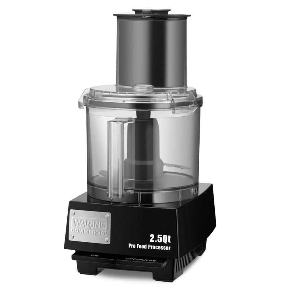 Waring WFP11S 1 Speed Batch/Bowl Food Processor w/ 2.5 qt Bowl, 120v
