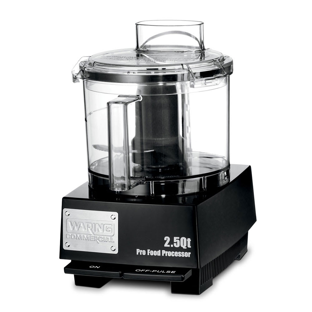 Waring WFP11SW 1 Speed Cutter Mixer Food Processor w/ 2.5 qt Bowl, 120v