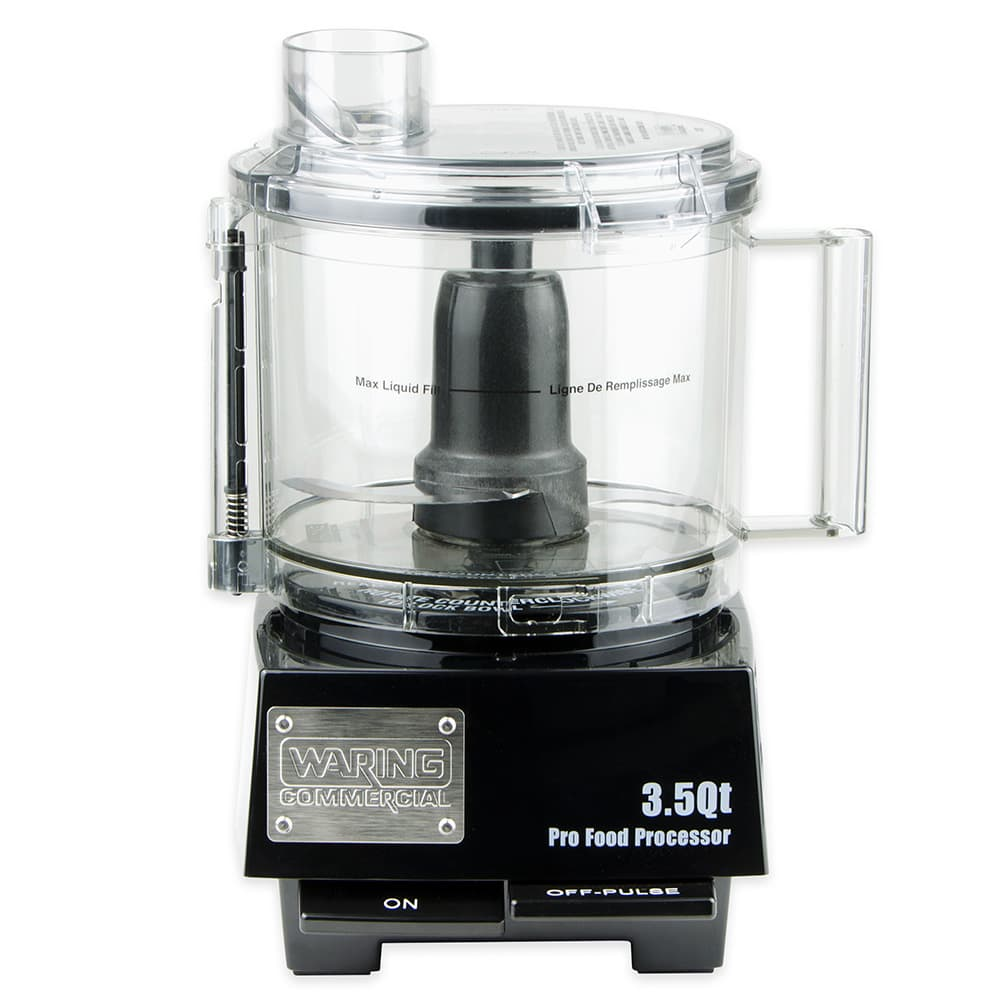 Waring WFP14S 1 Speed Batch/Bowl Food Processor w/ 3.5 qt Bowl, 120v