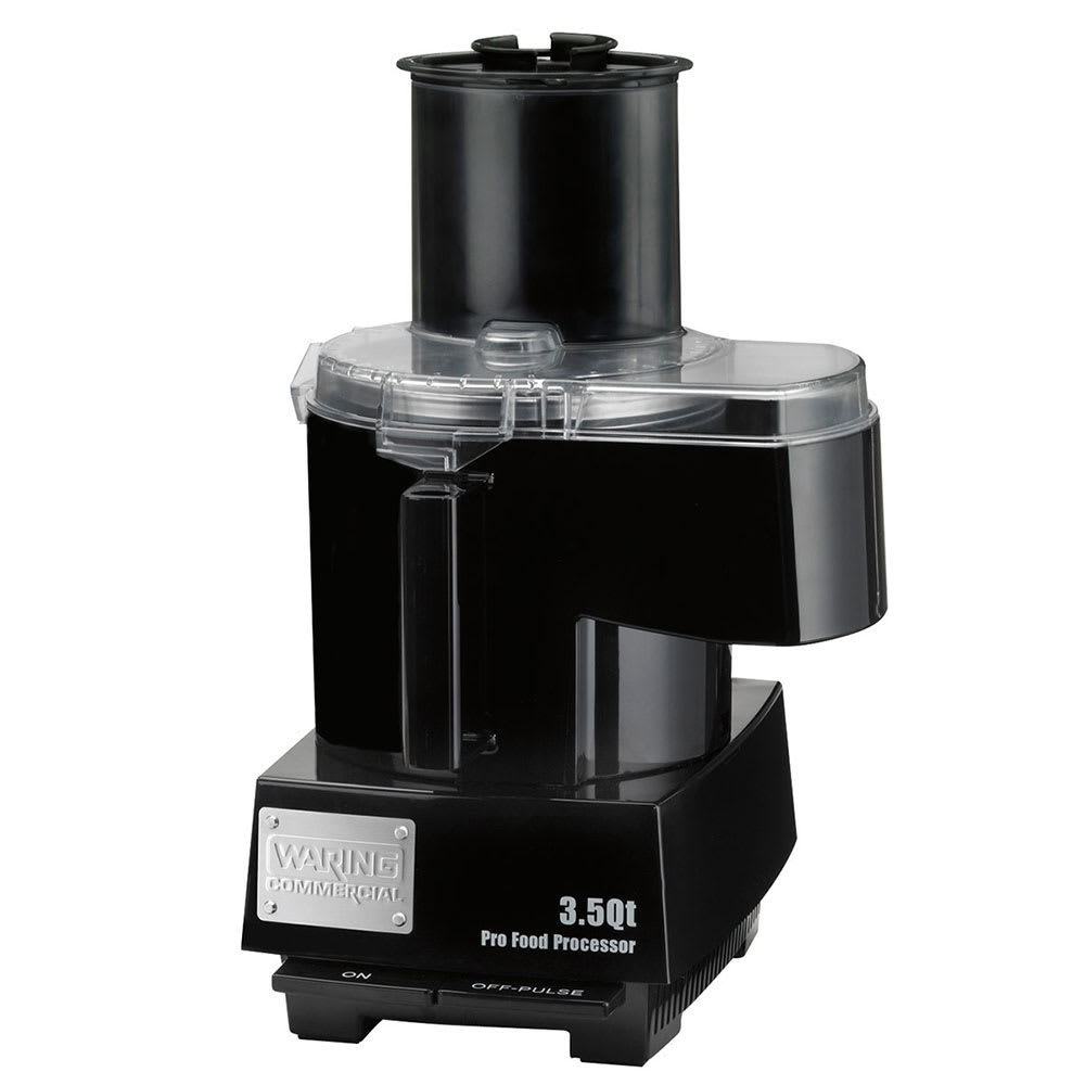 Waring WFP14SC 1 Speed Continuous Feed Food Processor w/ 3.5 qt Bowl, 120v