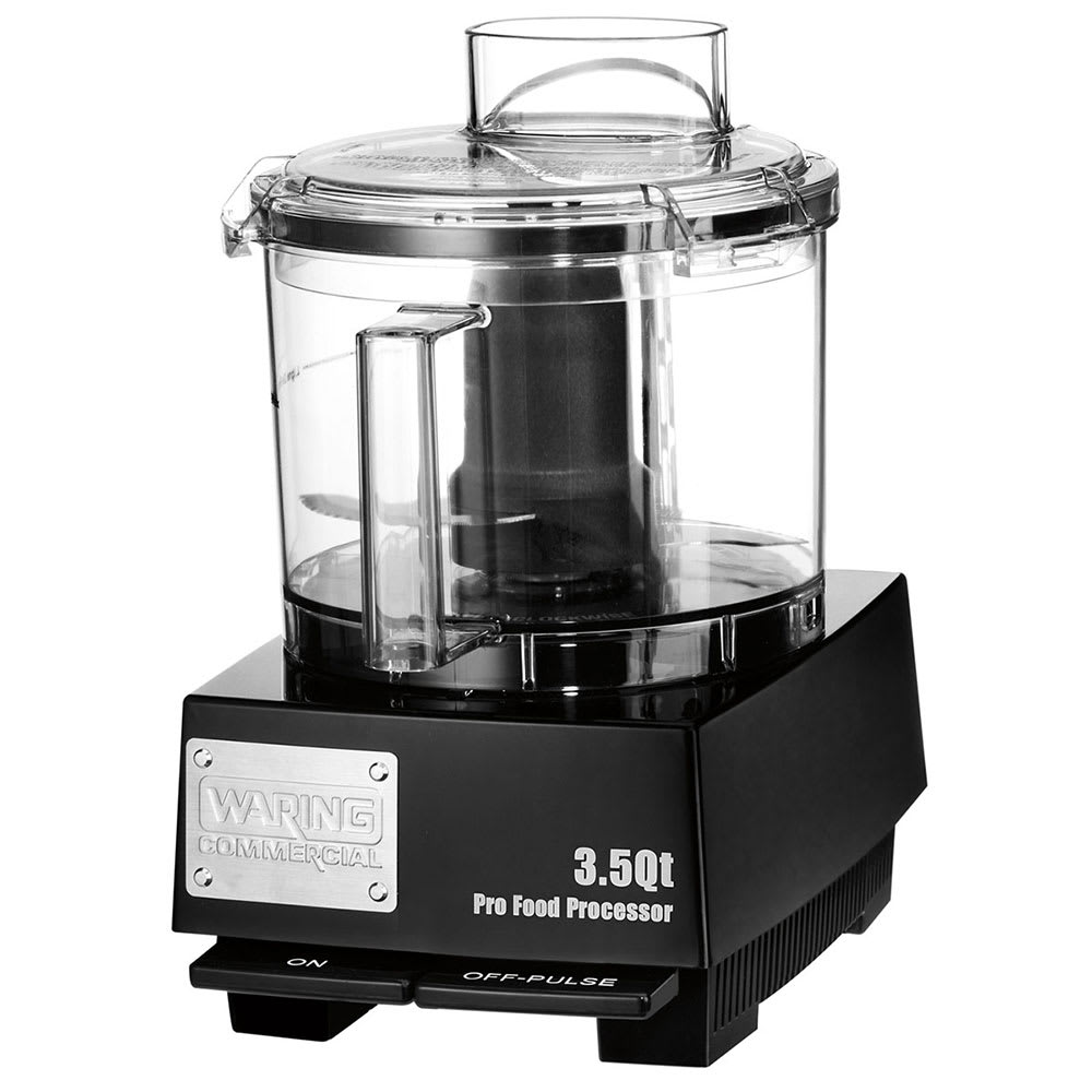 Waring WFP14SW 1-Speed Cutter Mixer Food Processor w/ 3.5-qt Bowl, 120v