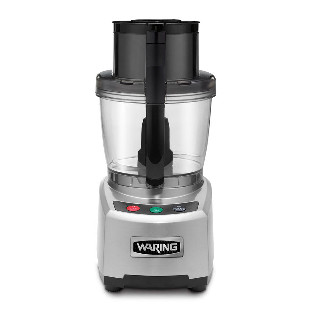 Waring WFP16S 1 Speed Batch/Bowl Food Processor w/ 4 qt Bowl, 120v