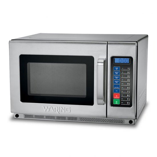 Waring WMO120 1800w Commercial Microwave w/ Touch Pad, 208/230v