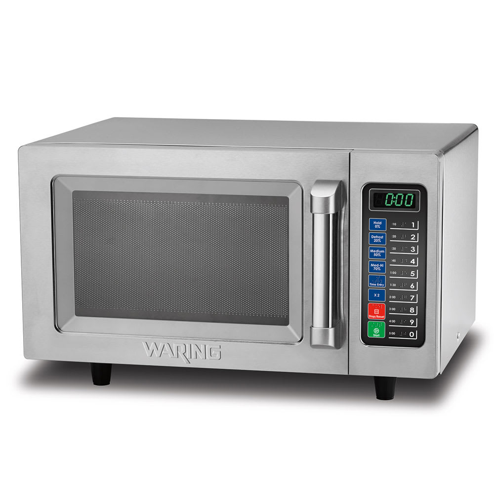 Waring WMO90 1000w Commercial Microwave w/ Touch Pad, 120v/1ph
