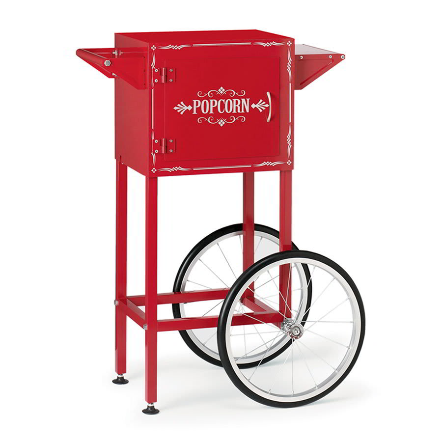 Waring WPM30TR Popcorn Maker Trolley w/ Storage Compartment & Magnetized Door, for Model WPM40