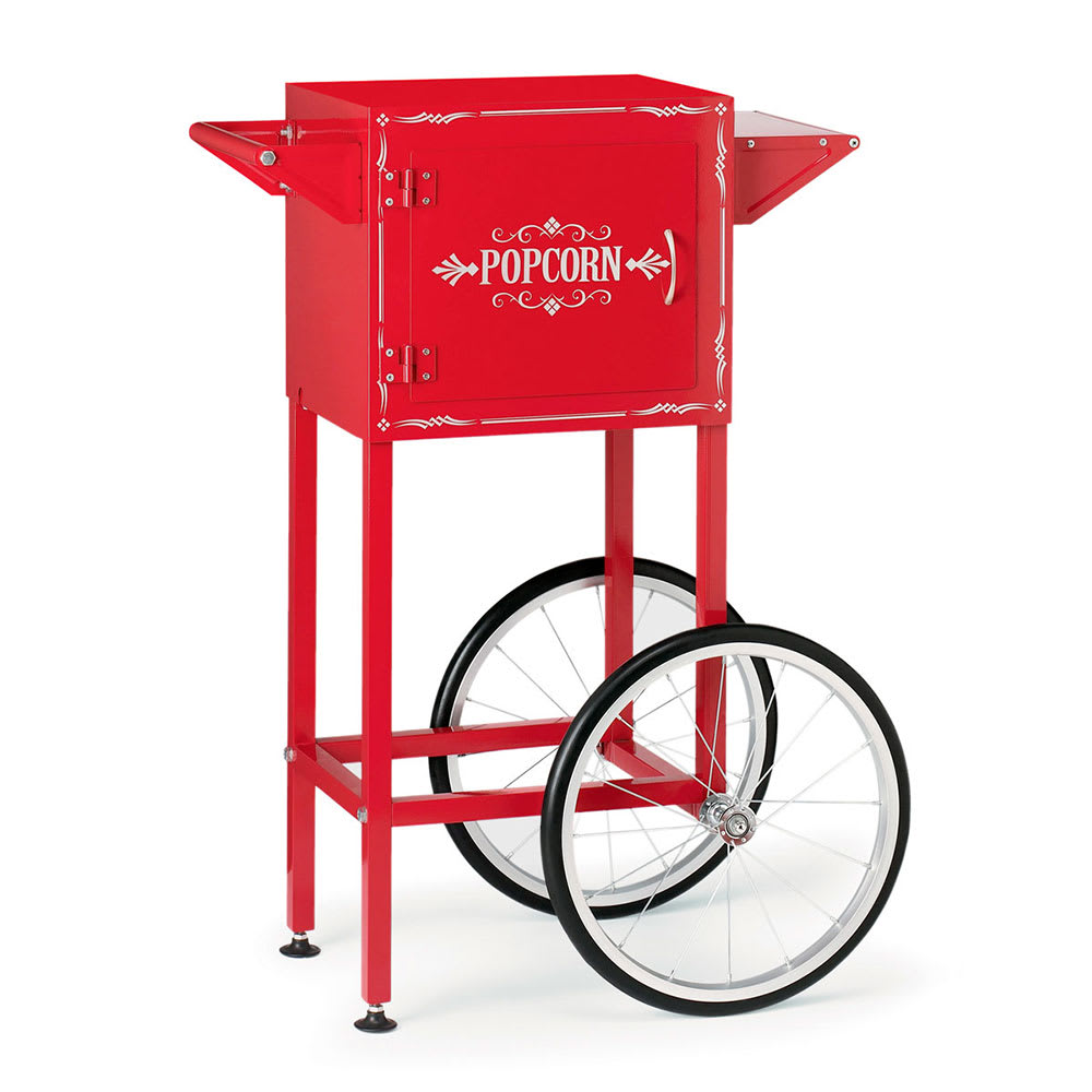 Waring WPM40TR Popcorn Maker Trolley w/ Storage Compartment & Magnetized Door, for Model WPM30