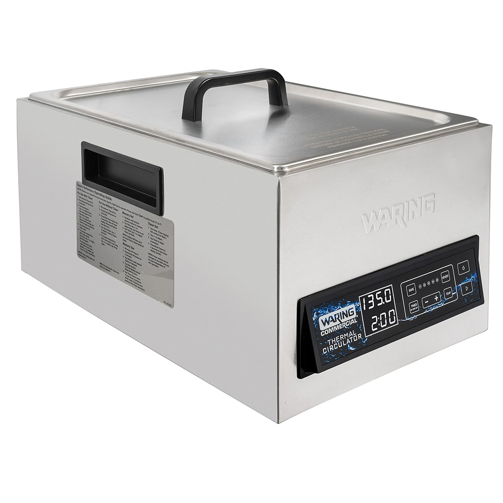 Waring WSV25 25 L Programmable Sous Vide Thermal Circulater w/ Touch Controls, 120v