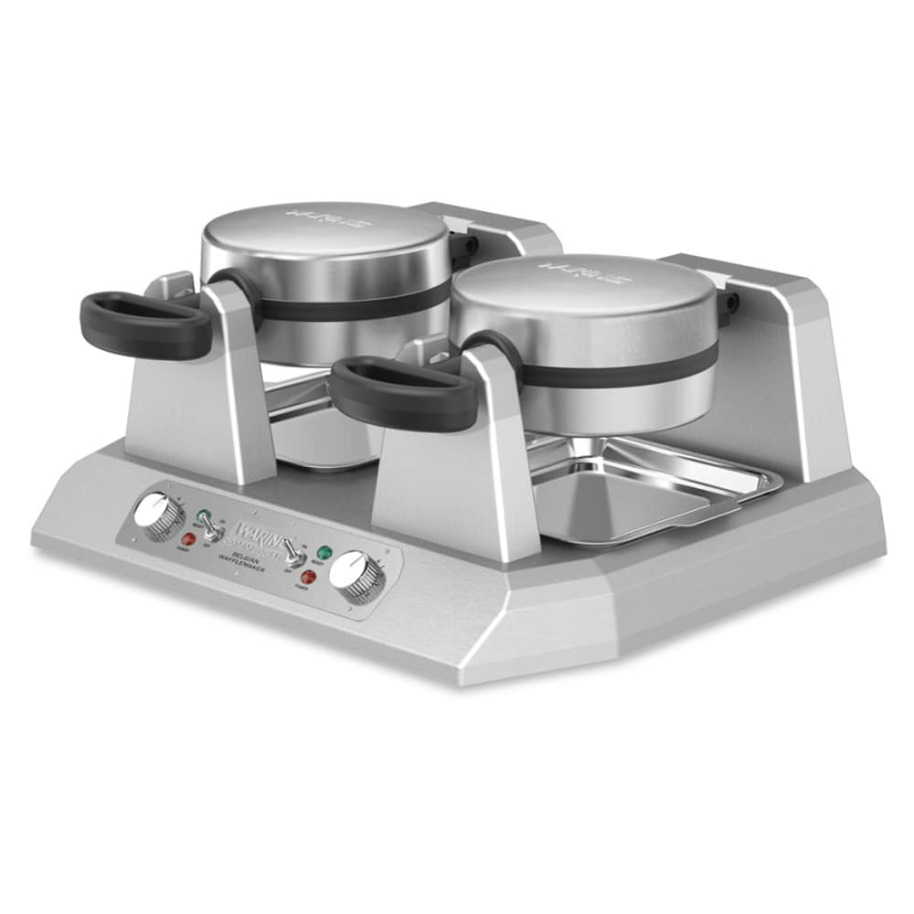 Waring WW250BX Double Belgian Waffle Maker w/ Independent Controls, 208v/1ph