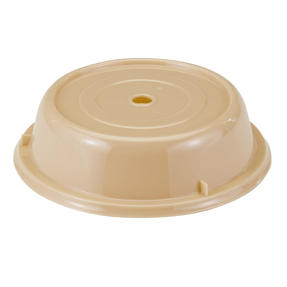 "Cambro 1000CW133 10-3/16"" Round Camwear Plate Cover - Beige"