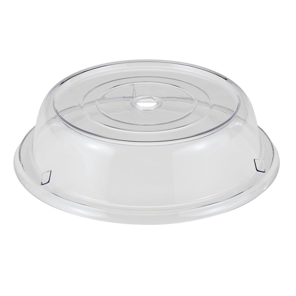 """Cambro 1000CW152 10 3/16"""" Round Camwear Plate Cover - Clear"""