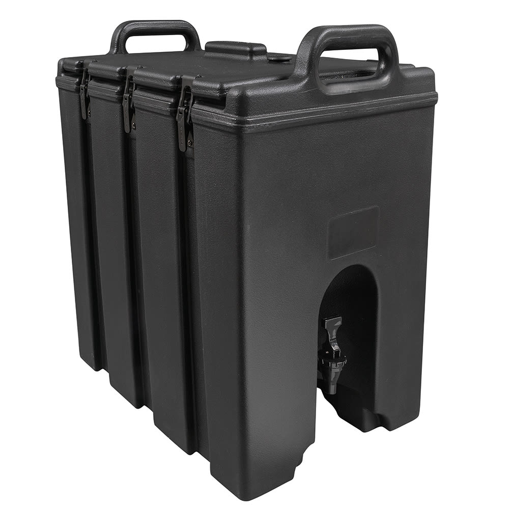 Cambro 1000LCD110 10 gal Camtainer Beverage Carrier - Insulated, Black