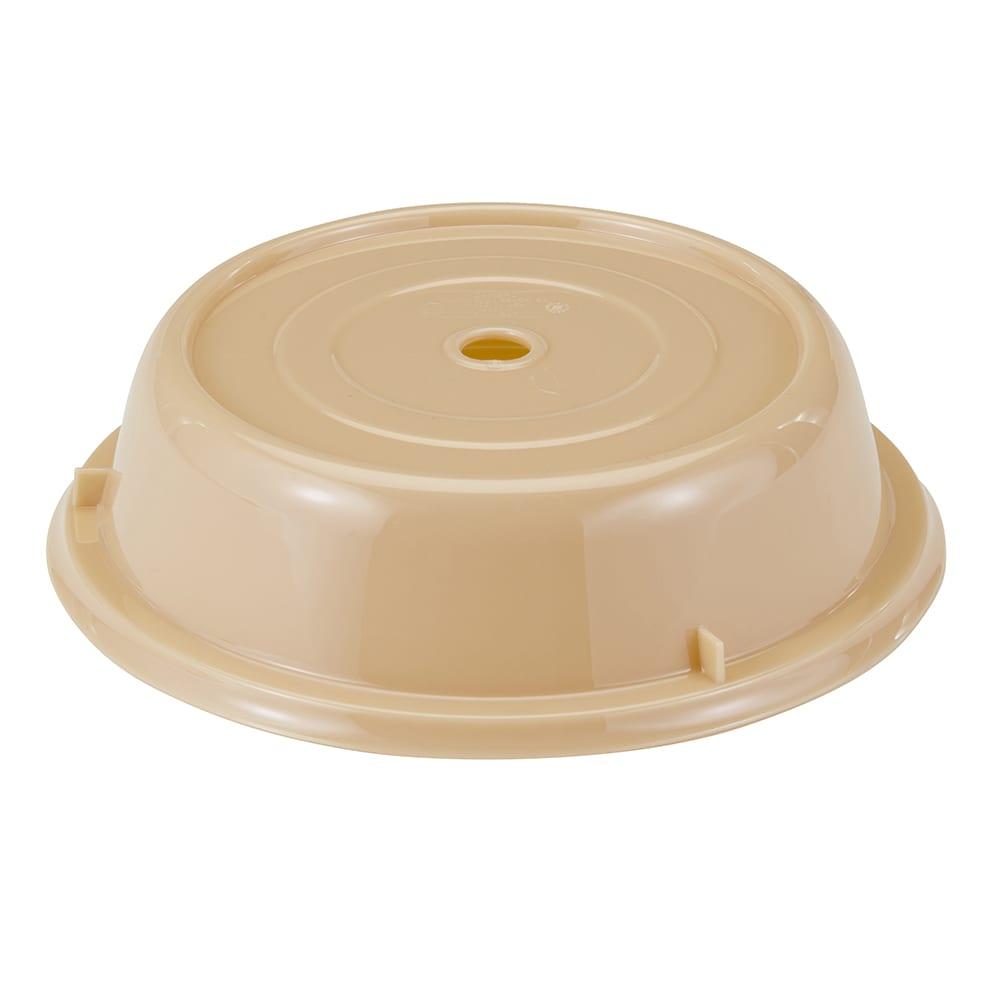 "Cambro 1007CW133 10 5/8"" Round Camwear Plate Cover - Beige"
