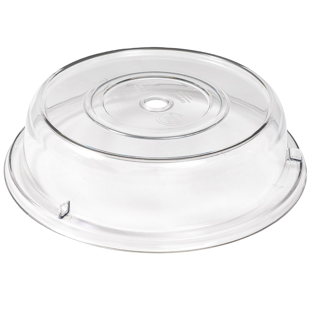 "Cambro 1007CW152 10-5/8"" Round Camwear Plate Cover - Clear"