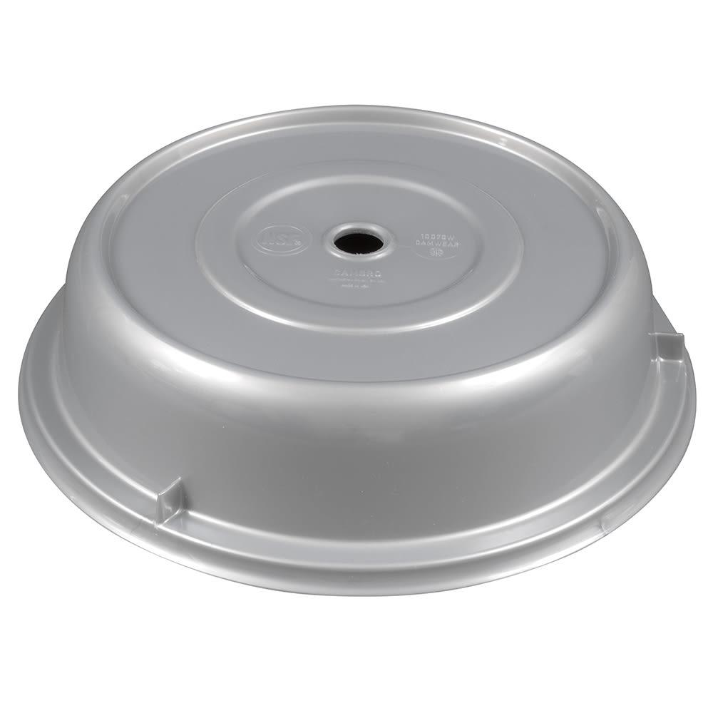 """Cambro 1007CW486 10 5/8"""" Round Camwear Plate Cover - Silver"""