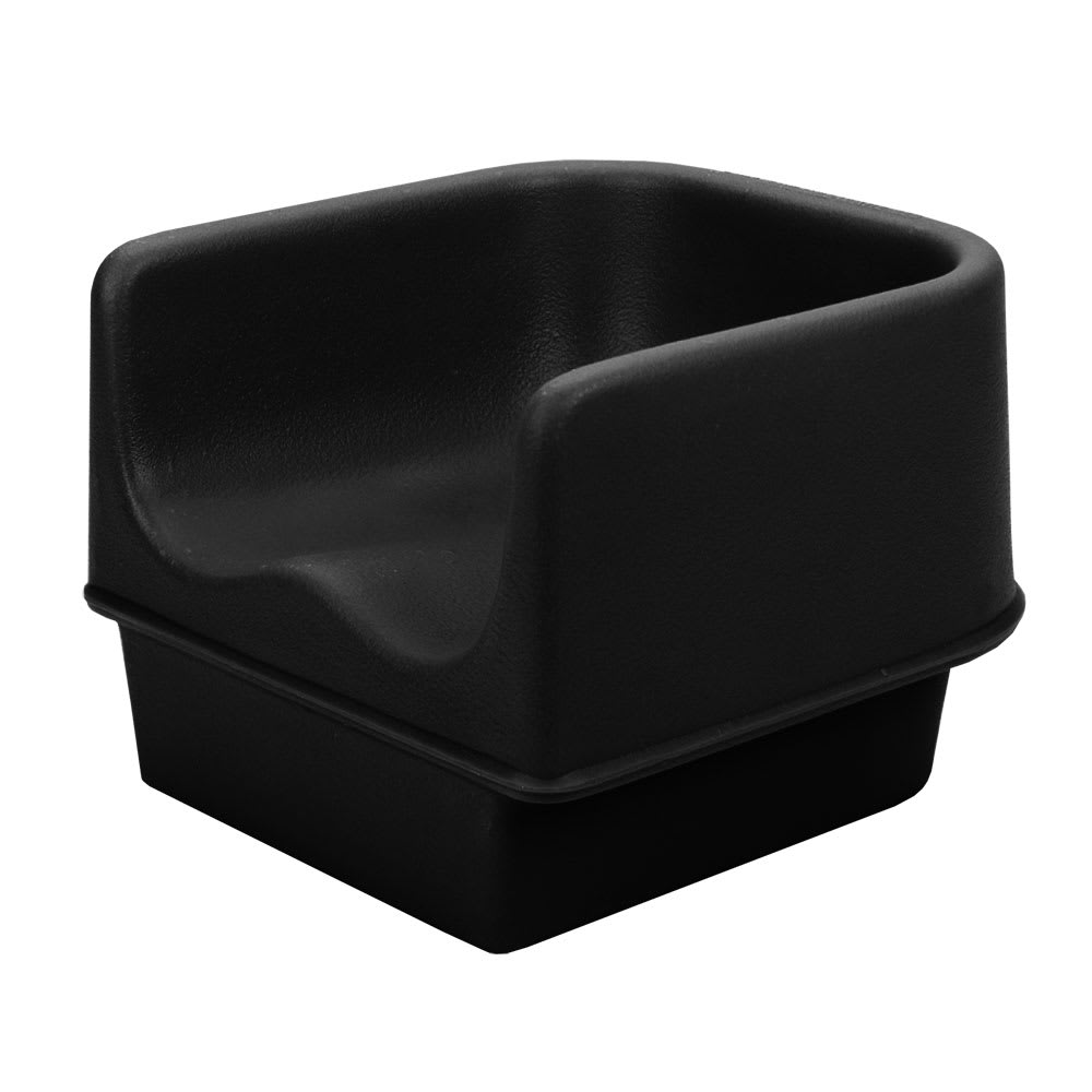 Cambro 100BC110 Single-Height Booster Seat - Polyethylene, Black
