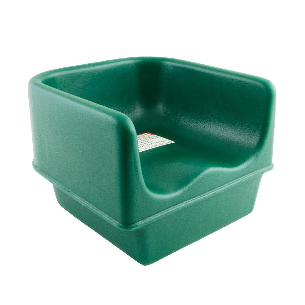Cambro 100BC1519 Single-Height Booster Seat - Polyethylene, Green