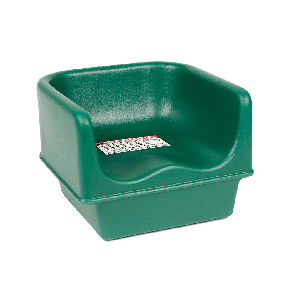 Cambro 100BC519 Single-Height Booster Seat - Polyethylene, Green