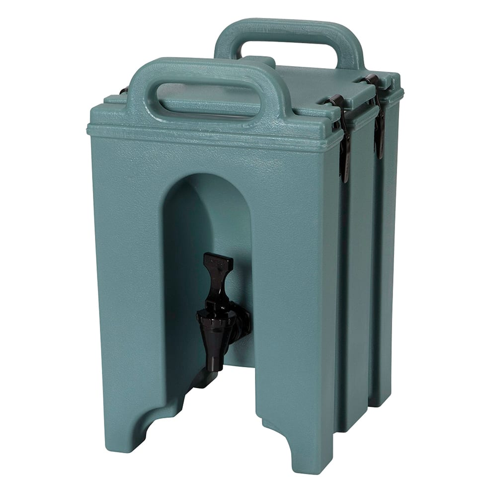 Cambro 100LCD401 1-1/2-gal Camtainer Beverage Carrier - Insulated, Slate Blue